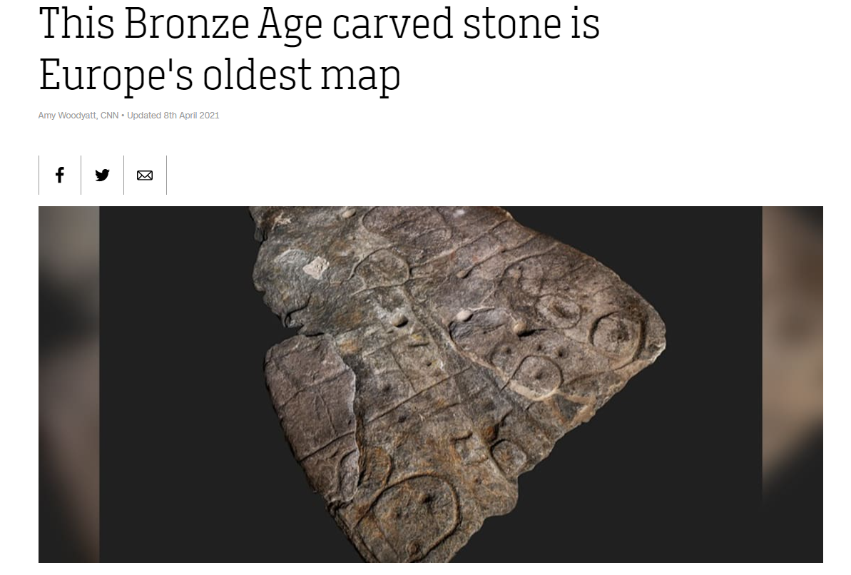 CNN Oldest map of Europe