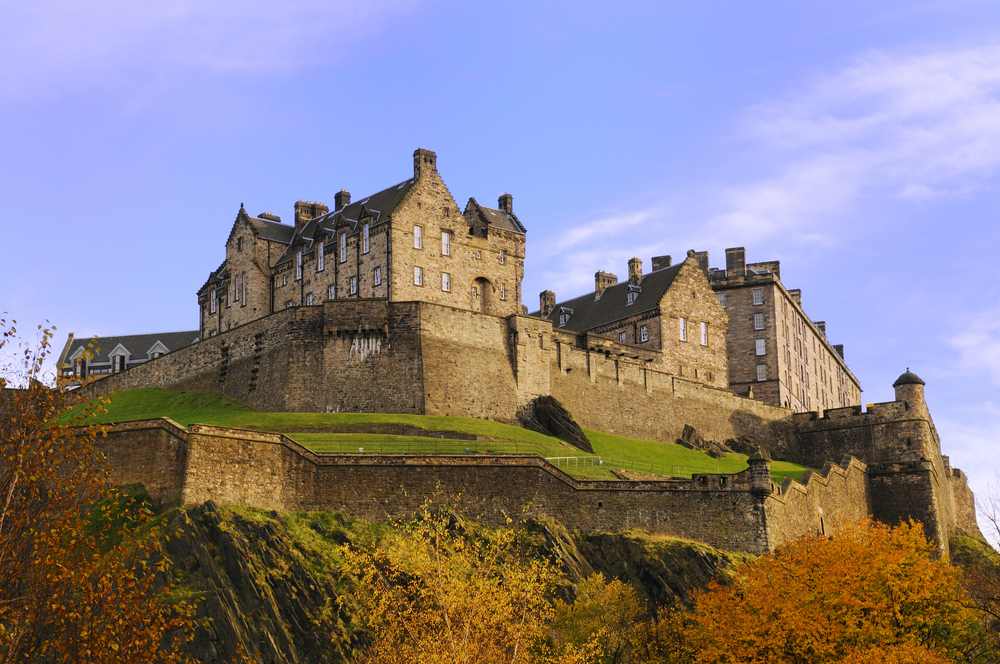 One of my Favorite Stone Landmarks: Edinburgh Castle