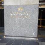 Petrillo Stone work on Comcast Building