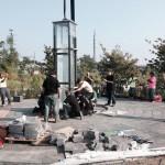 Construction of September 11 Memorial